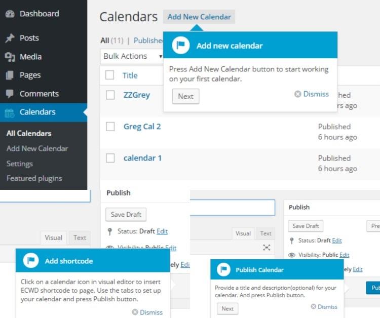 Catch The Latest WordPress Event Calendar WD Updates