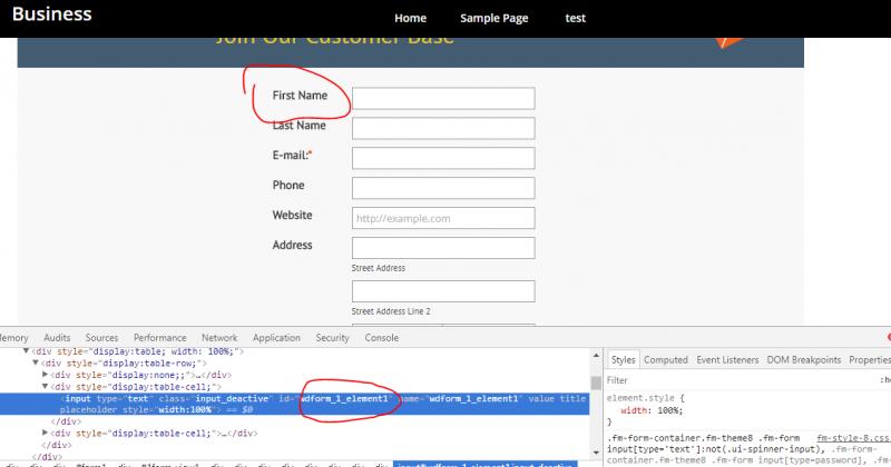 How to call a function on Form Options - Javascript - Forum – Web Dorado